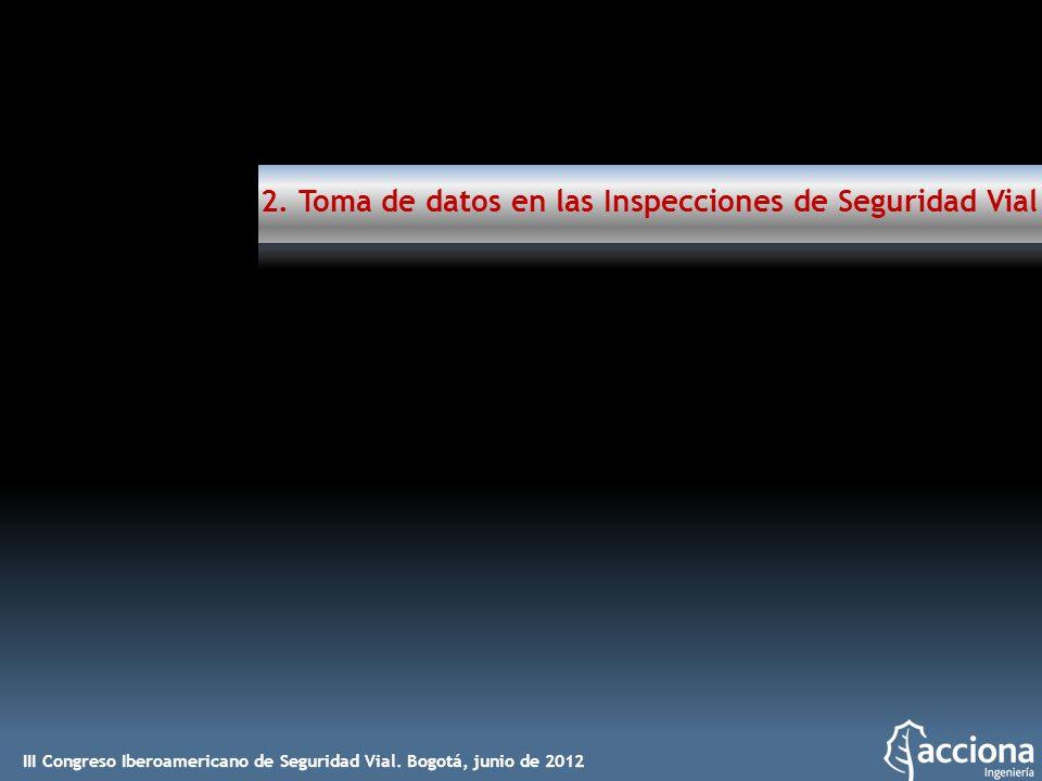 2. Toma de datos en las Inspecciones de Seguridad Vial