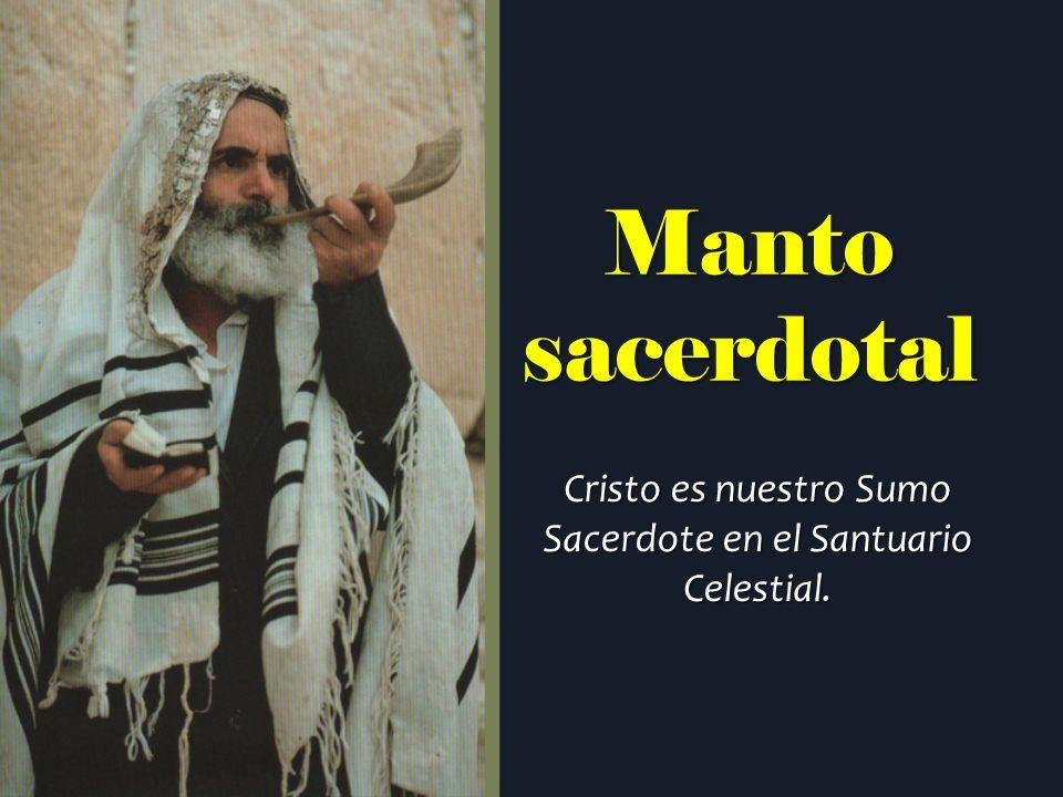 Cristo es nuestro Sumo Sacerdote en el Santuario Celestial.
