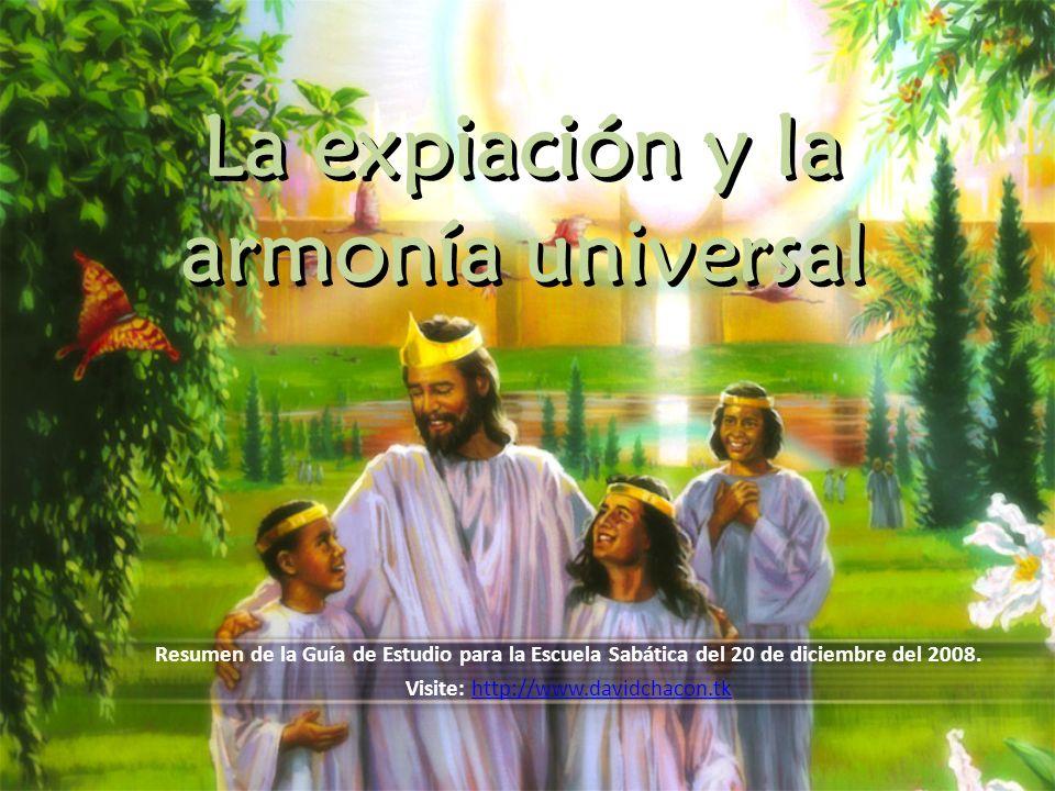 La expiación y la armonía universal