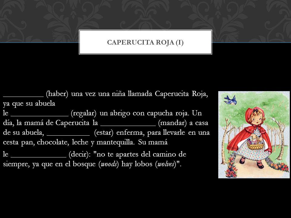 Caperucita roja (I)