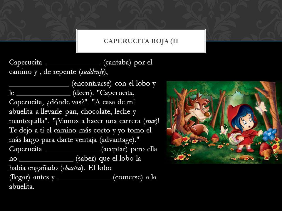Caperucita roja (II
