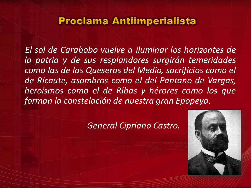 Proclama Antiimperialista