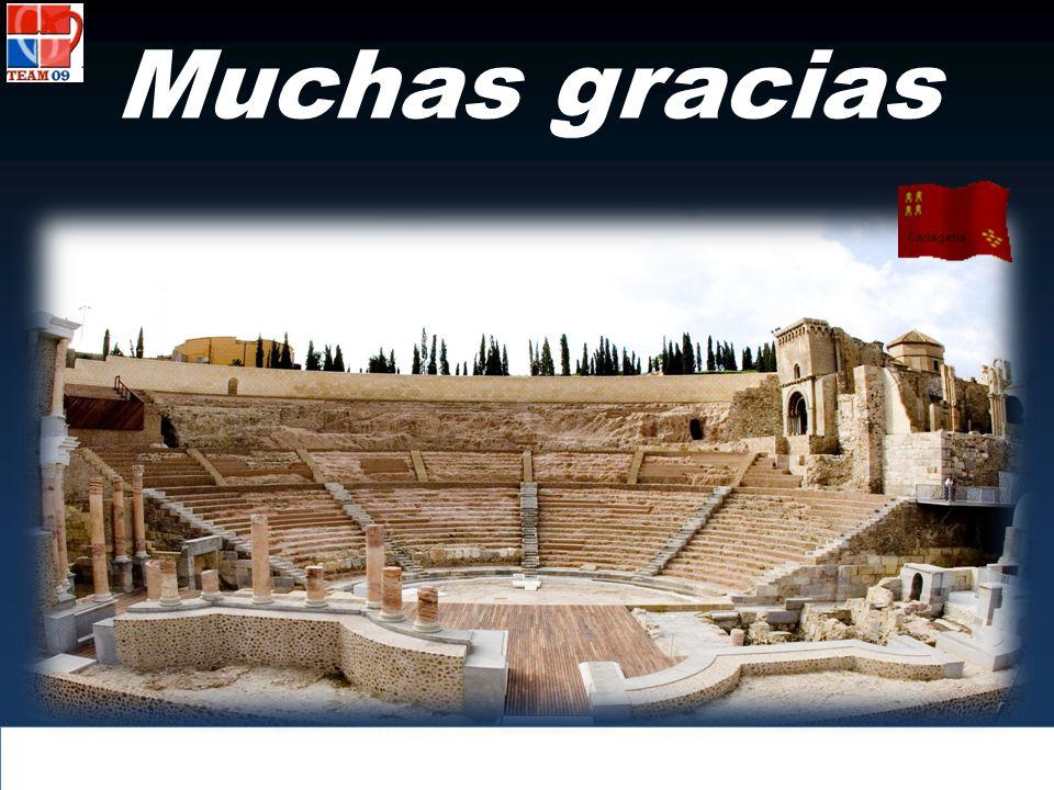 Muchas gracias Cartagena