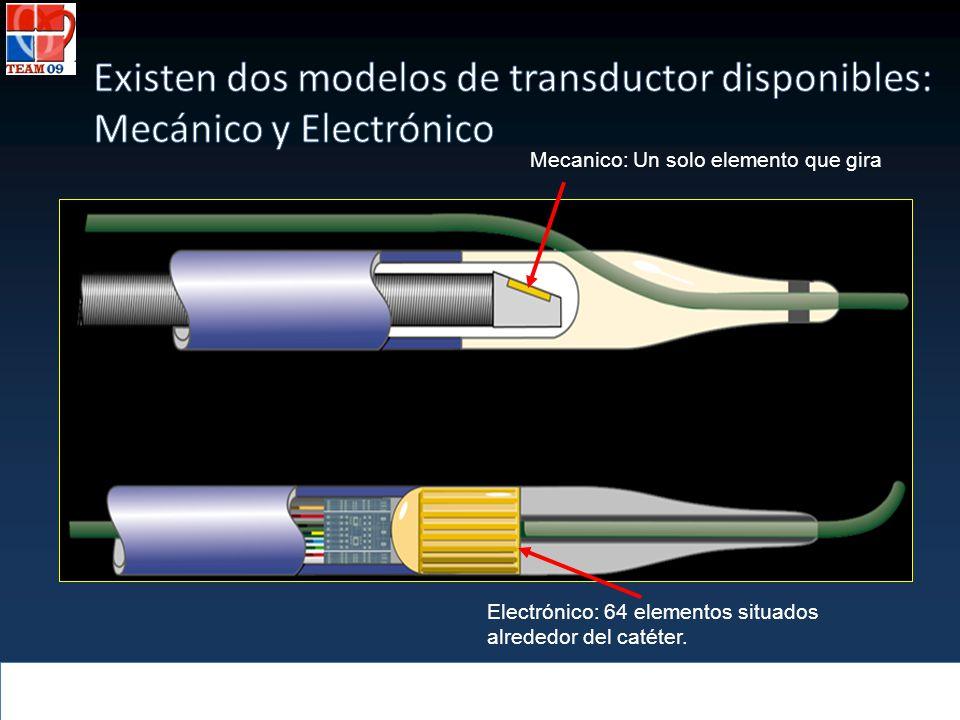 Existen dos modelos de transductor disponibles: Mecánico y Electrónico