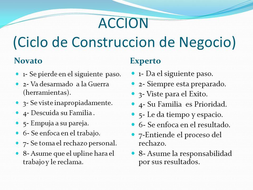 ACCION (Ciclo de Construccion de Negocio)