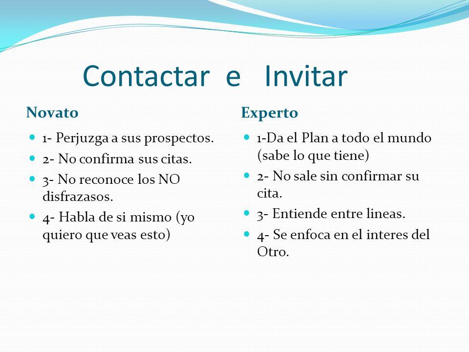 Contactar e Invitar Novato Experto 1- Perjuzga a sus prospectos.