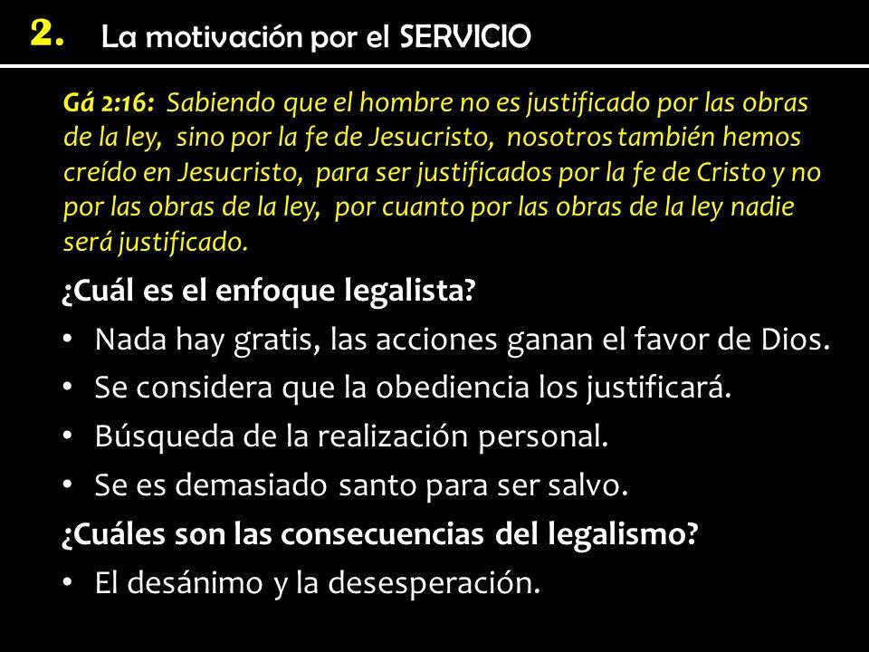 ¿Cuál es el enfoque legalista