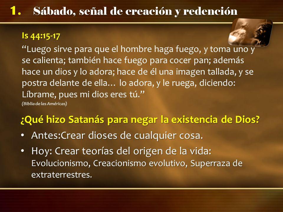 ¿Qué hizo Satanás para negar la existencia de Dios