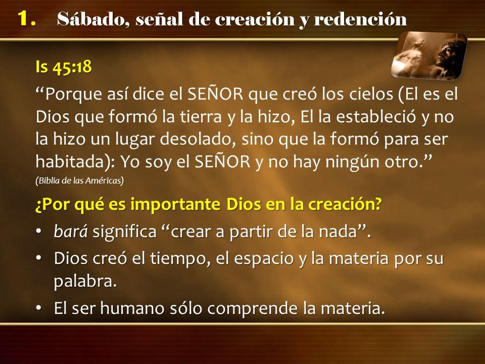 ¿Por qué es importante Dios en la creación
