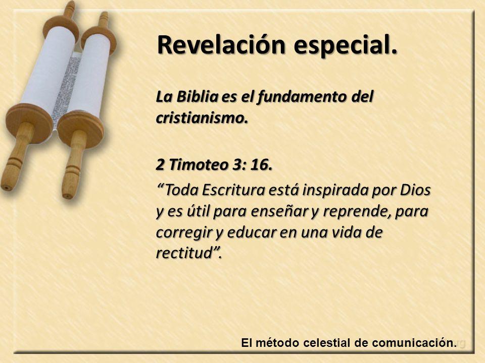 La Biblia es el fundamento del cristianismo.