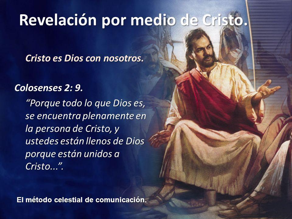 Cristo es Dios con nosotros.