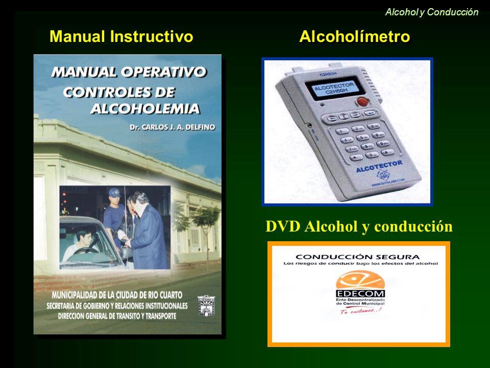 DVD Alcohol y conducción