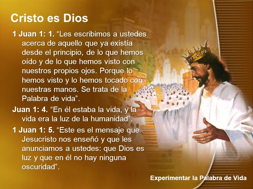1 Juan 1: 1.