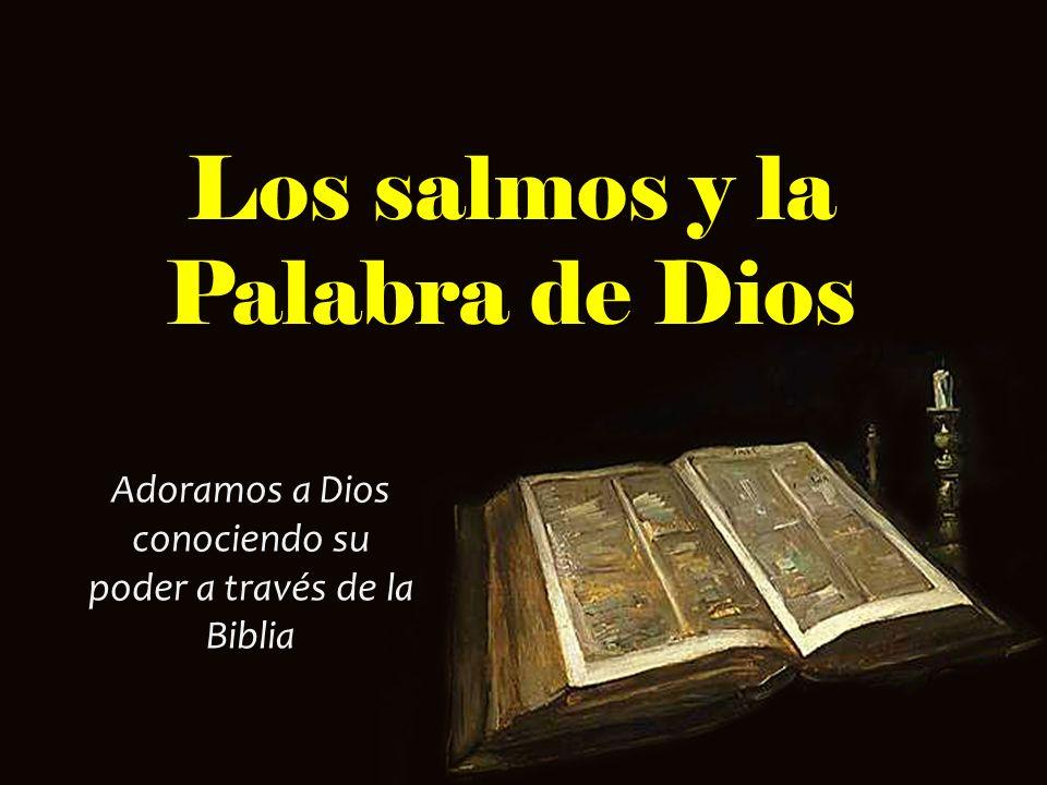Los salmos y la Palabra de Dios