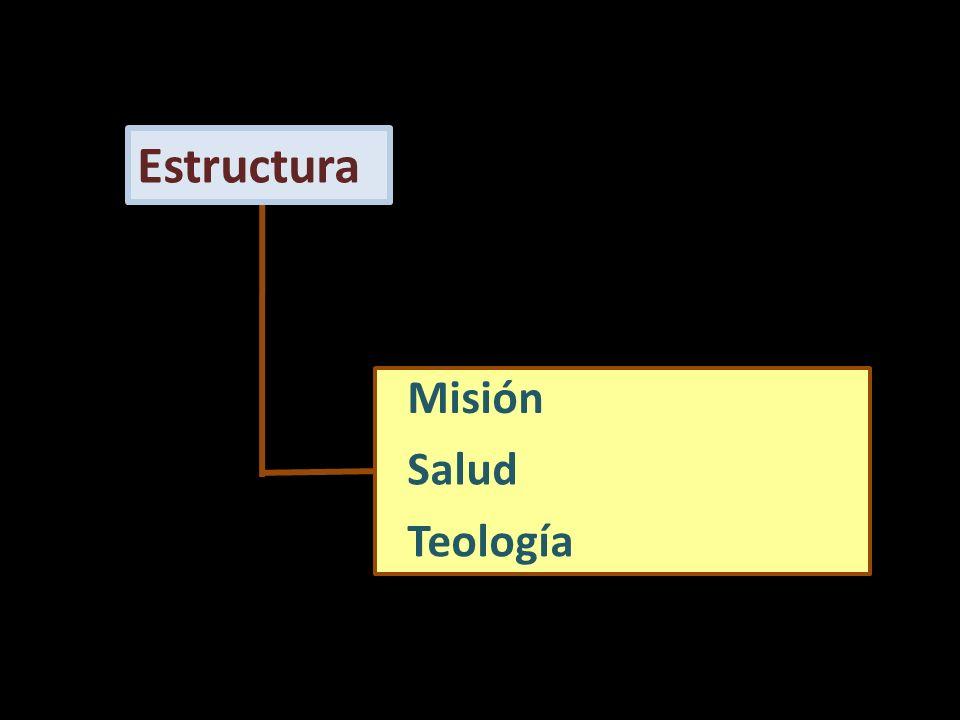 Estructura Misión Salud Teología