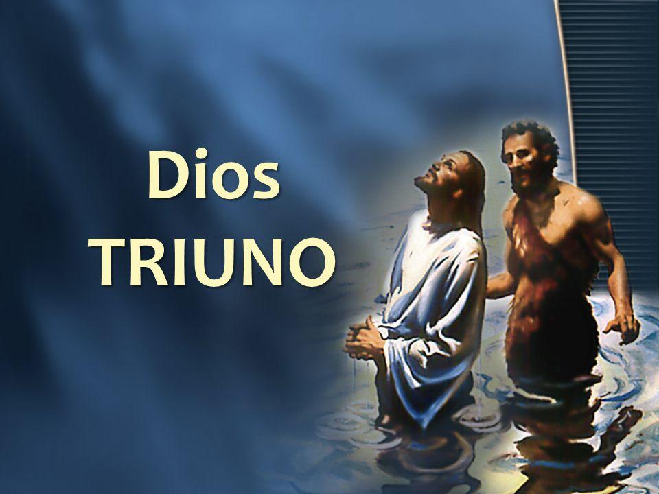 Dios TRIUNO