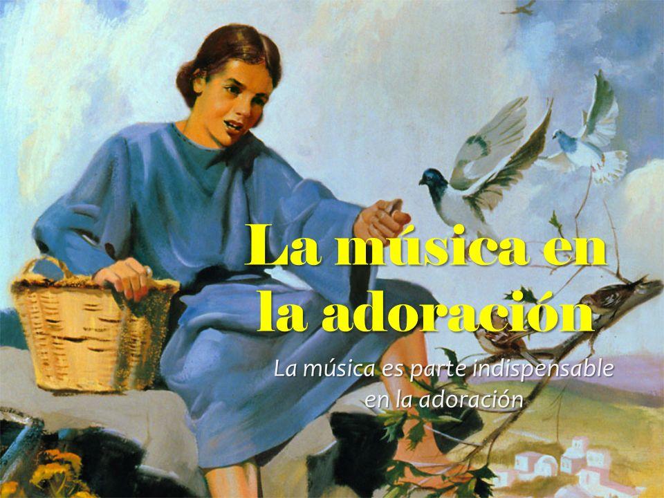 La música en la adoración