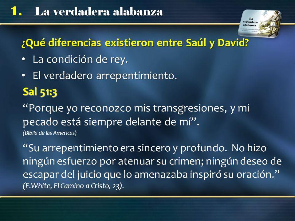 ¿Qué diferencias existieron entre Saúl y David
