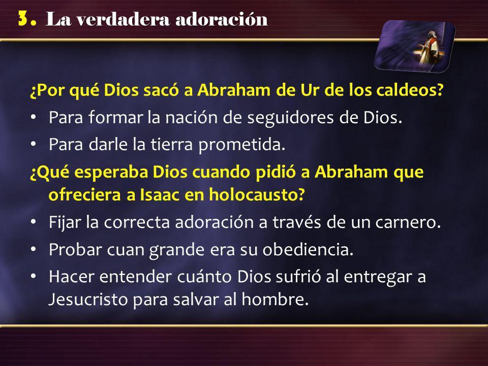 ¿Por qué Dios sacó a Abraham de Ur de los caldeos