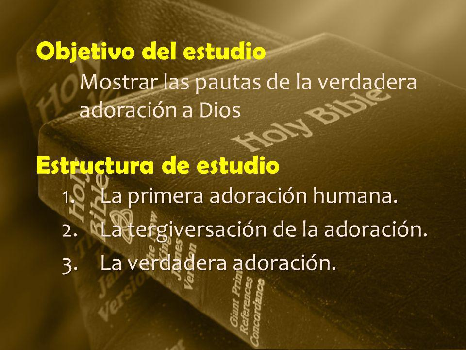 Objetivo del estudio Estructura de estudio
