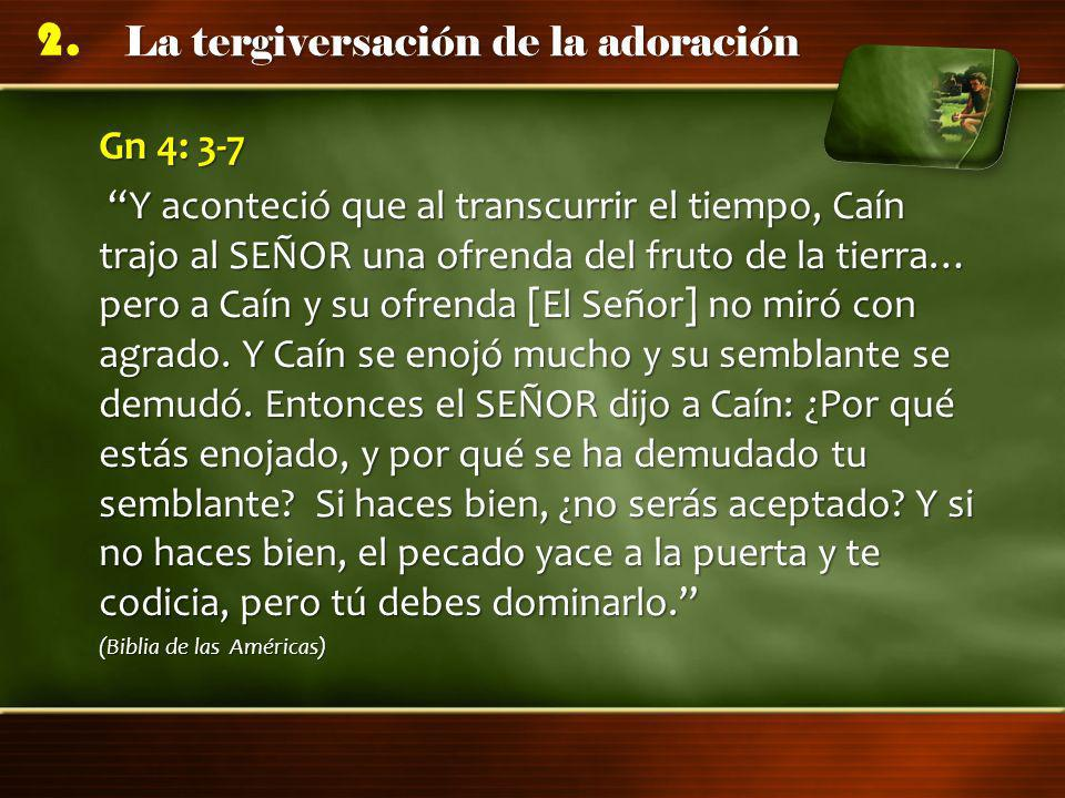 Gn 4: 3-7