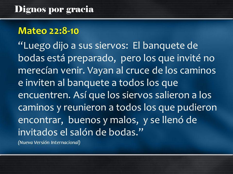 Mateo 22:8-10