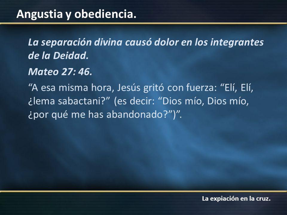 La separación divina causó dolor en los integrantes de la Deidad