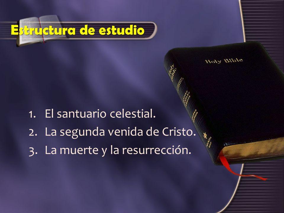 Estructura de estudio El santuario celestial.