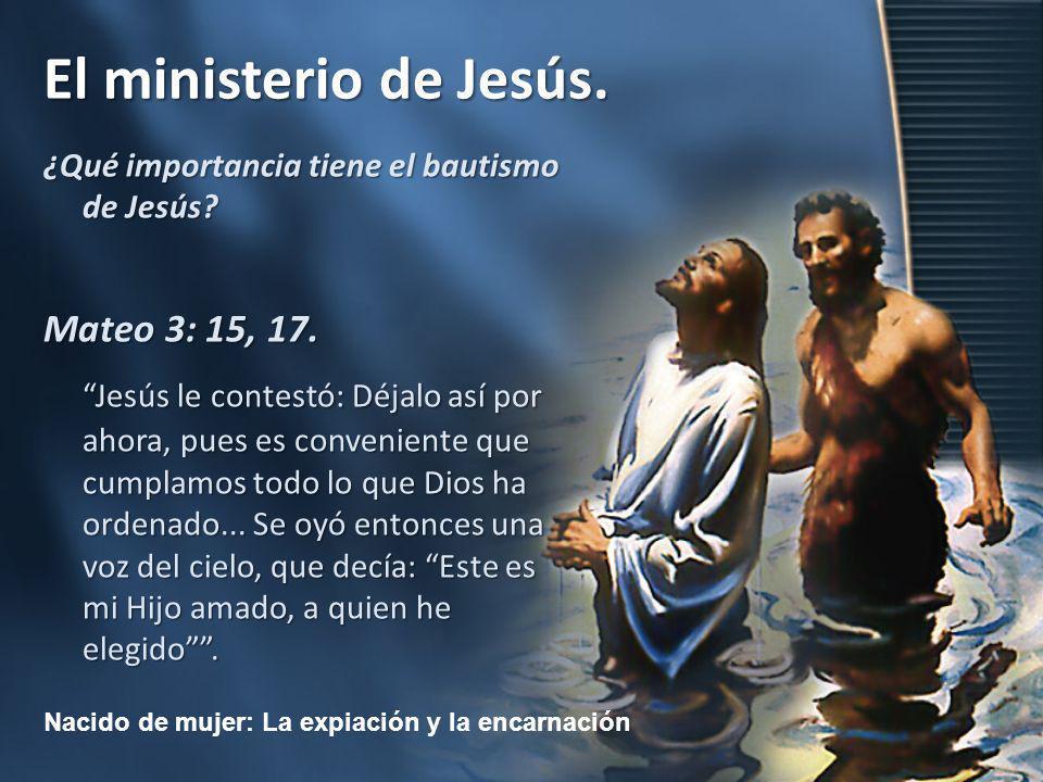 ¿Qué importancia tiene el bautismo de Jesús