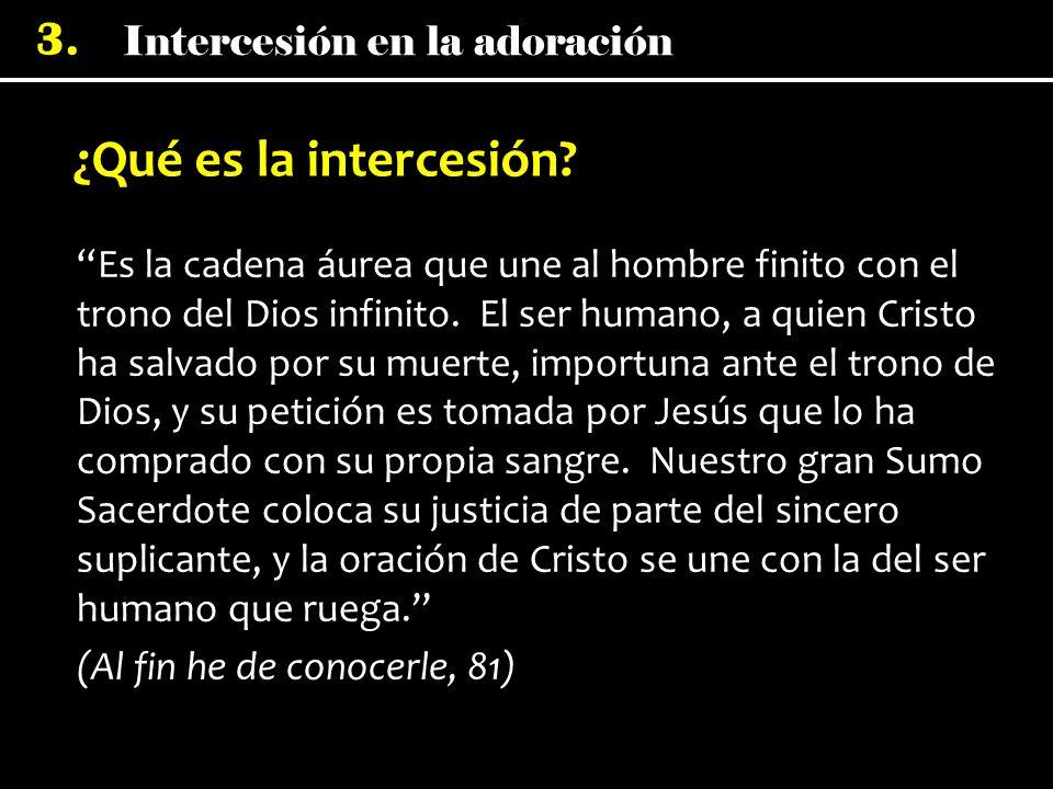 ¿Qué es la intercesión