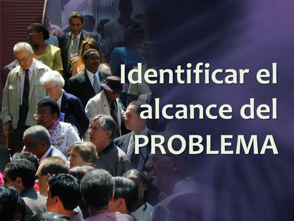 Identificar el alcance del PROBLEMA