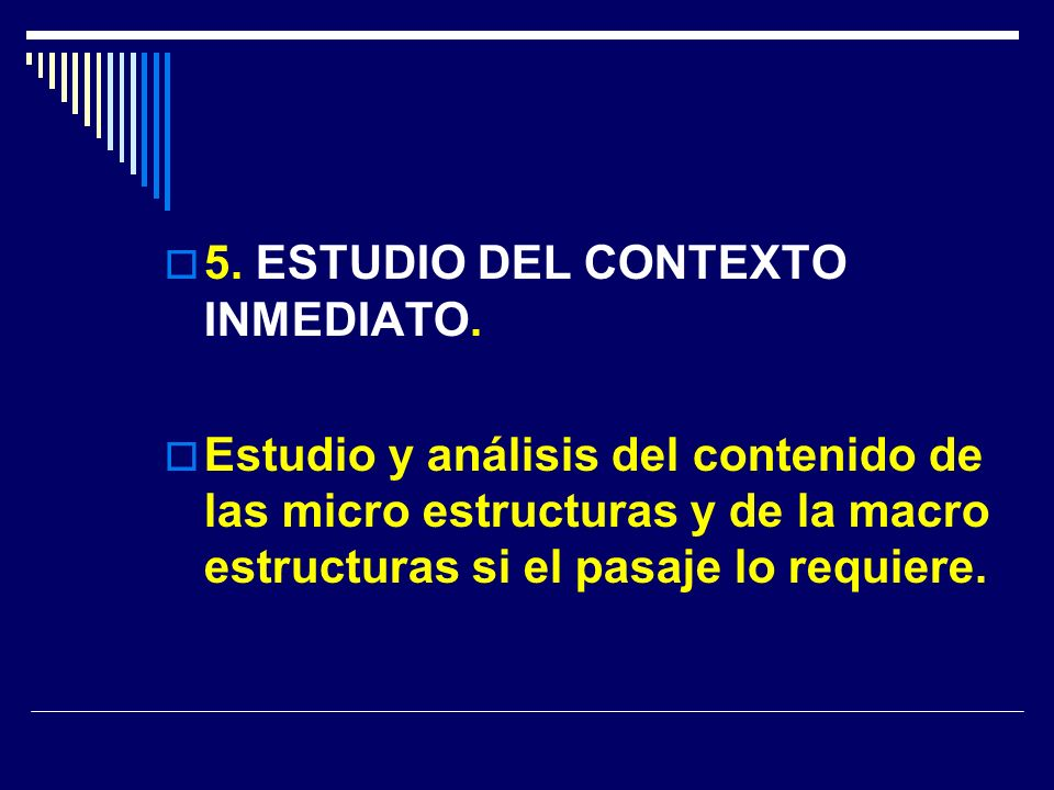 5. ESTUDIO DEL CONTEXTO INMEDIATO.