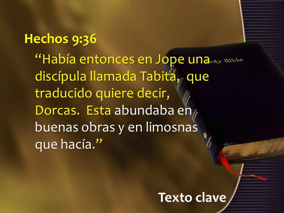 Hechos 9:36