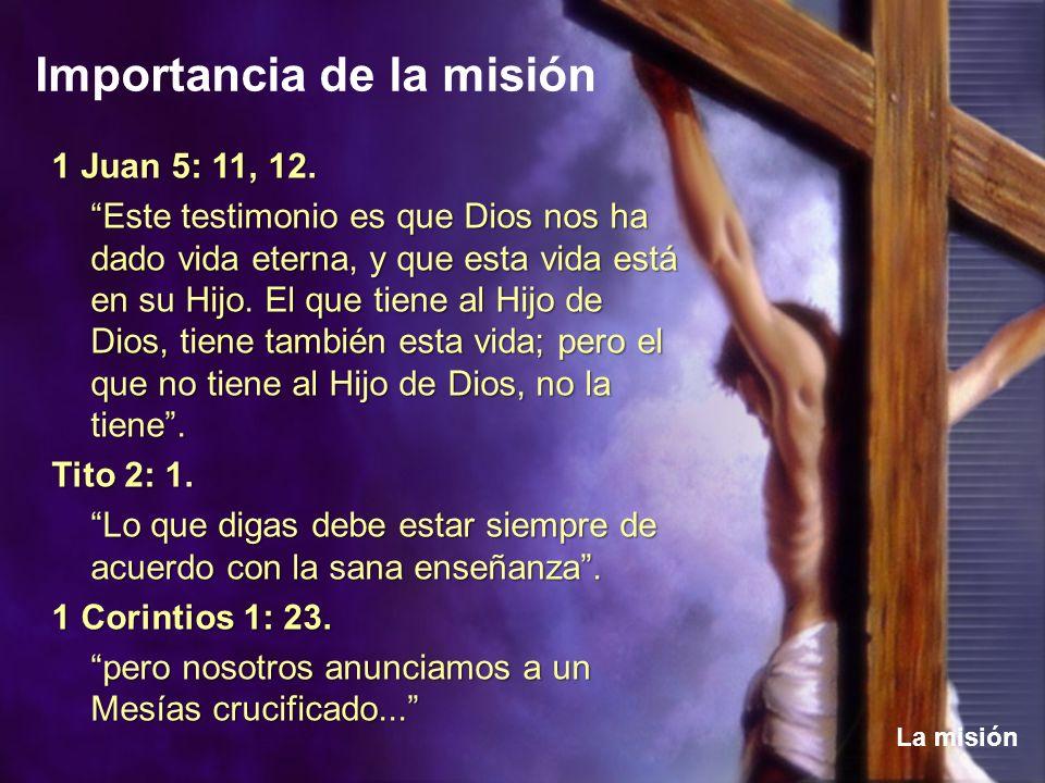 1 Juan 5: 11, 12.