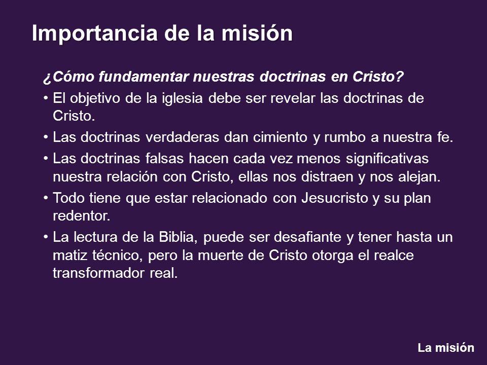 ¿Cómo fundamentar nuestras doctrinas en Cristo