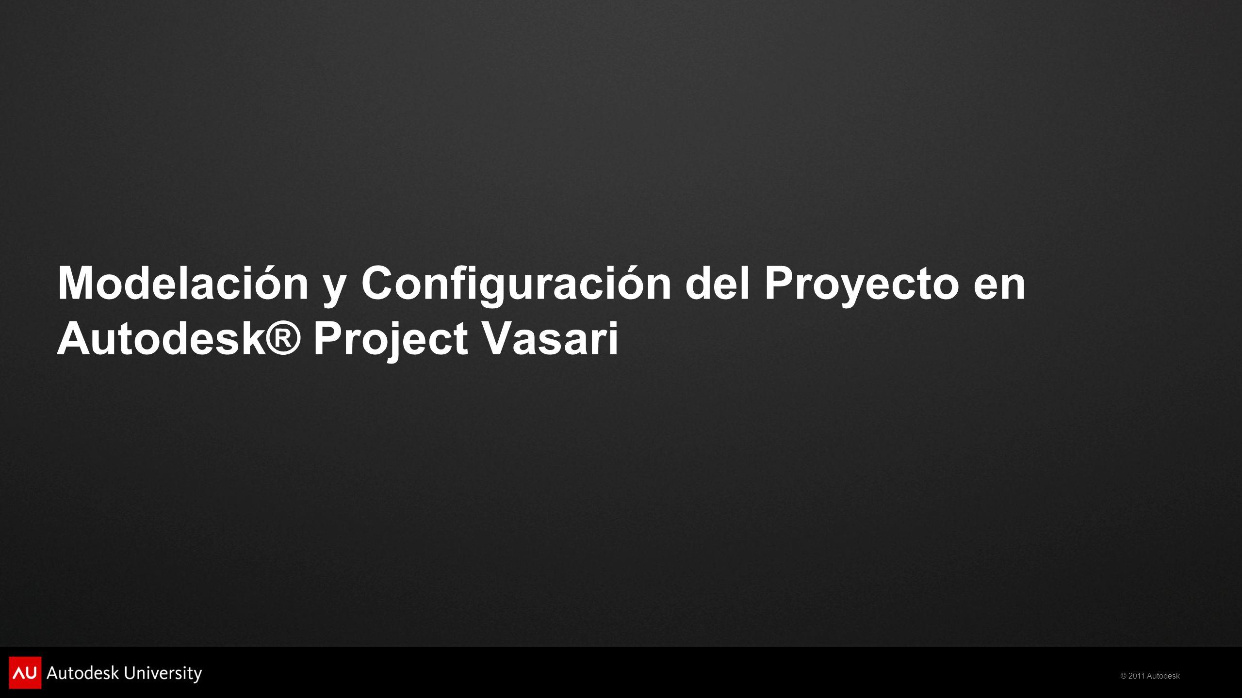 Modelación y Configuración del Proyecto en Autodesk® Project Vasari