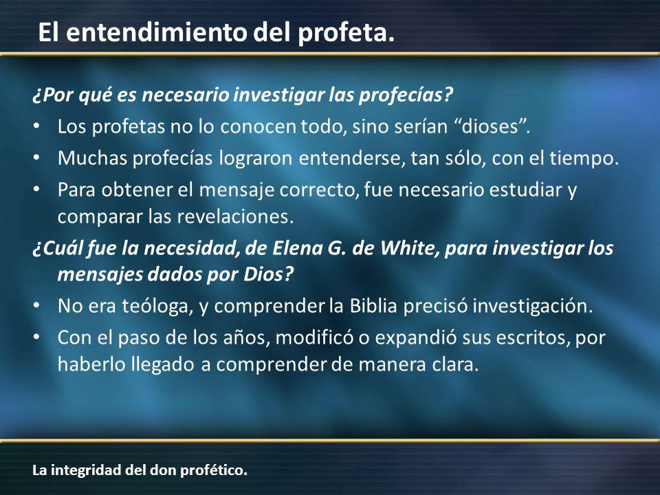 ¿Por qué es necesario investigar las profecías