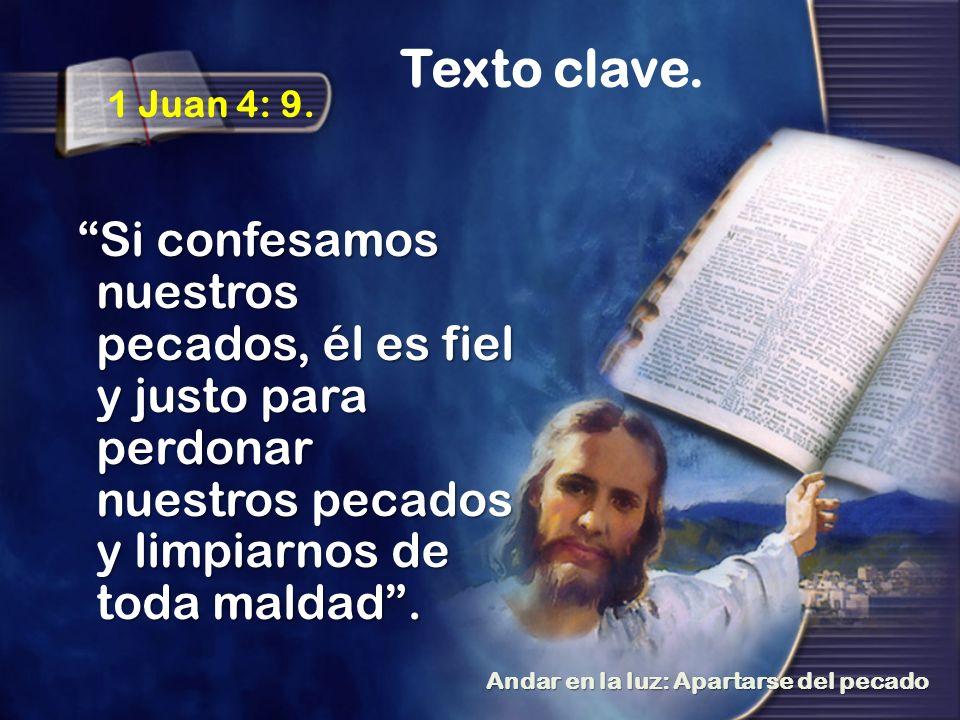 Texto clave.1 Juan 4: 9.