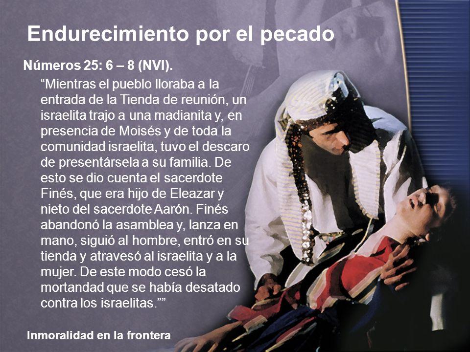 Números 25: 6 – 8 (NVI).