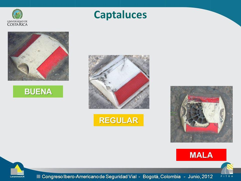 Captaluces BUENA REGULAR MALA