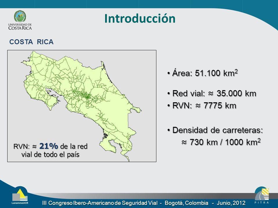 RVN: ≈ 21% de la red vial de todo el país