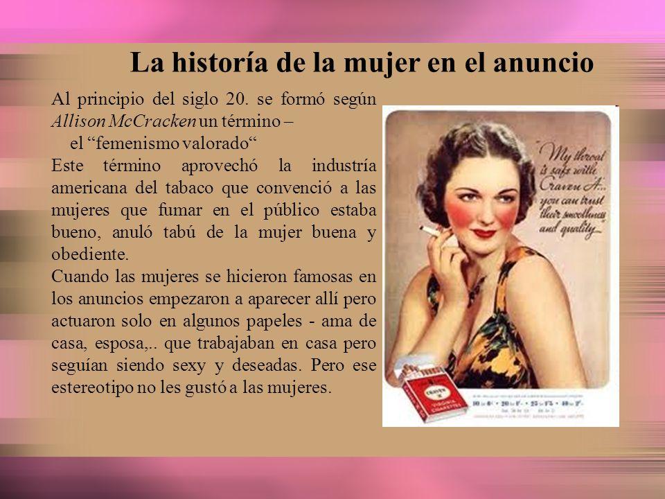 La historía de la mujer en el anuncio