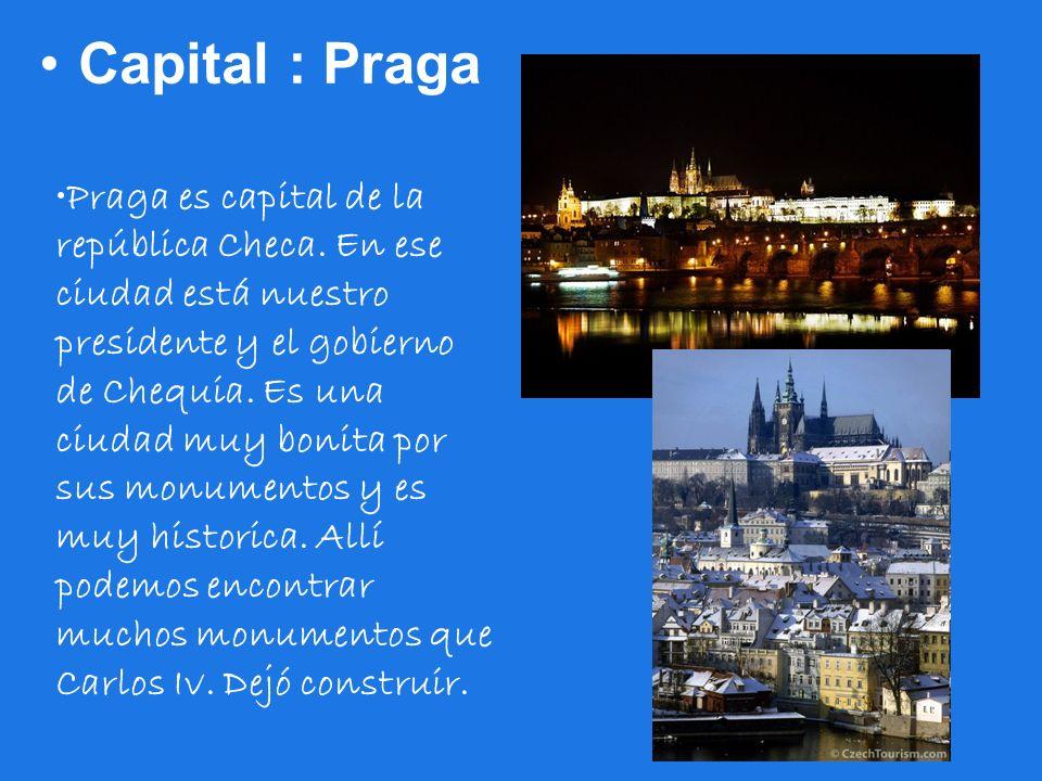 Capital : Praga