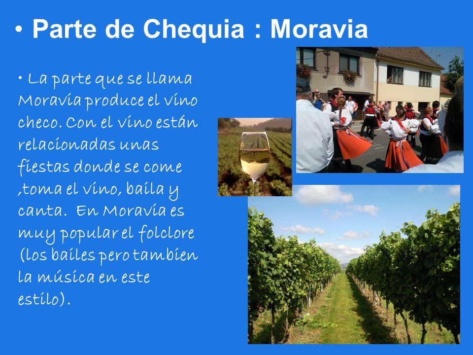 Parte de Chequia : Moravia