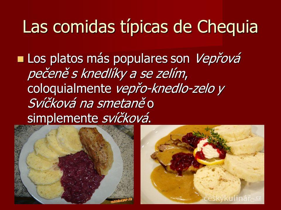 Las comidas típicas de Chequia