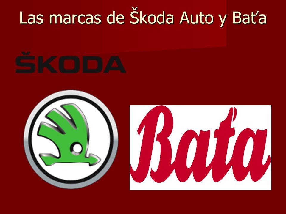 Las marcas de Škoda Auto y Baťa
