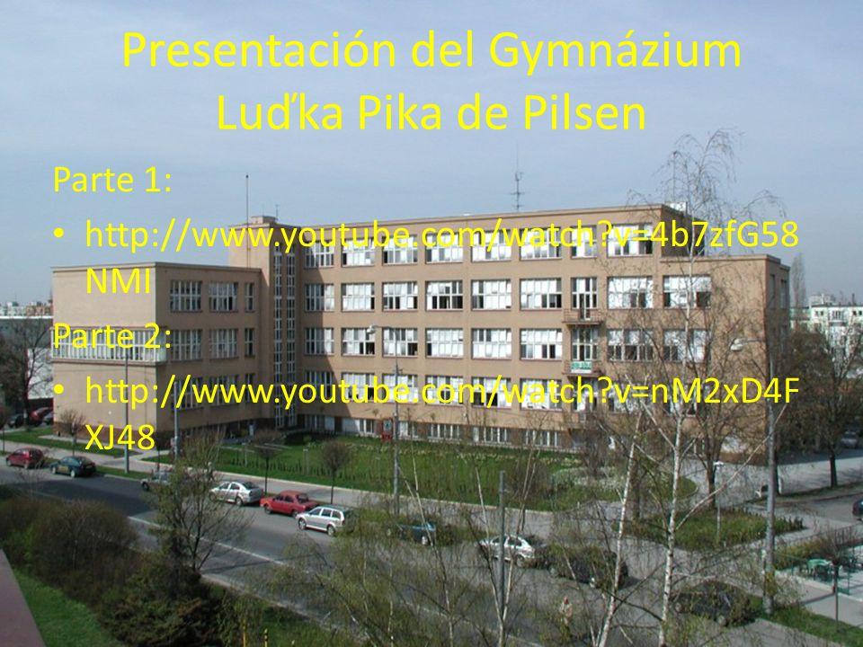 Presentación del Gymnázium Luďka Pika de Pilsen
