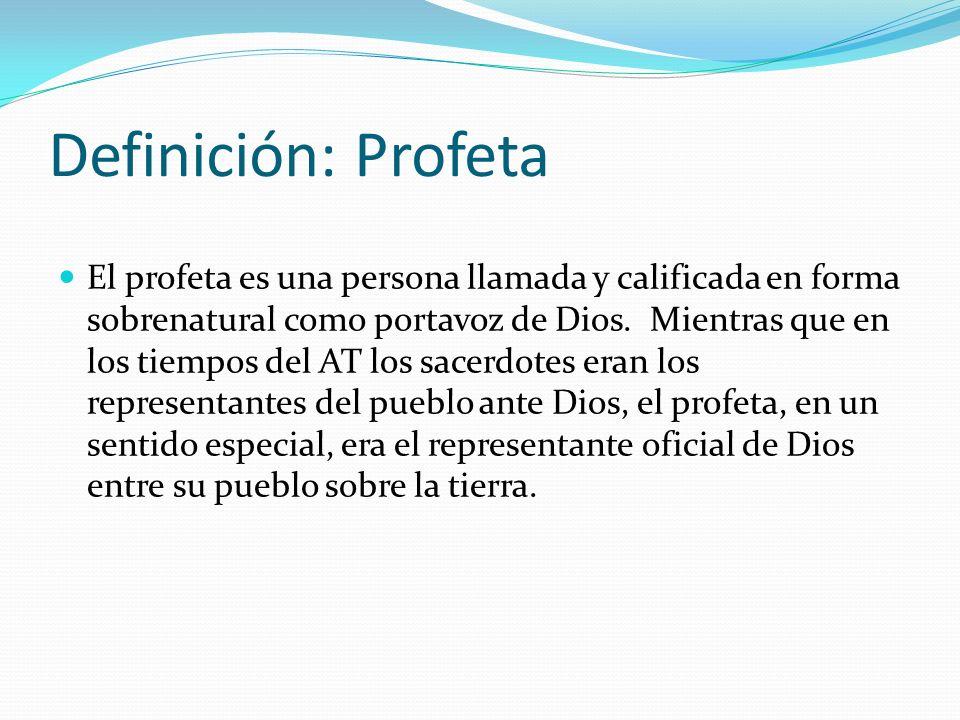 Definición: Profeta