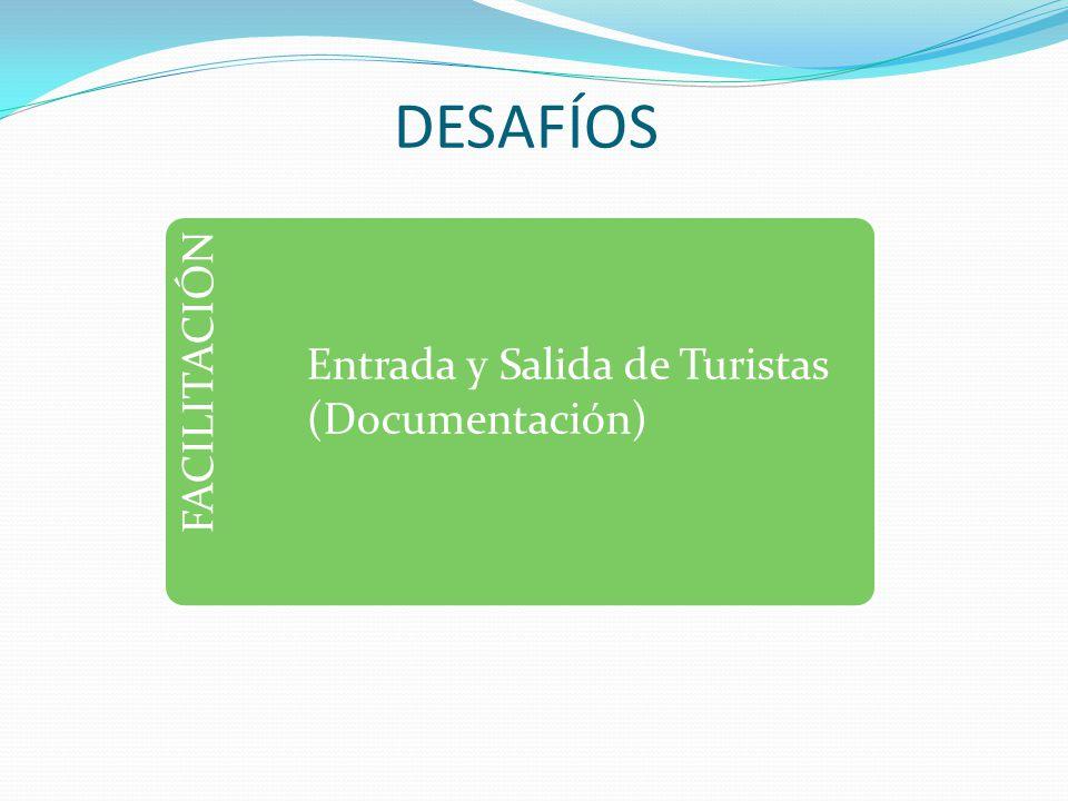DESAFÍOS FACILITACIÓN Entrada y Salida de Turistas (Documentación)