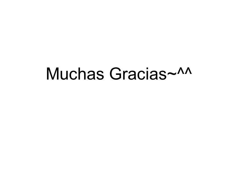 Muchas Gracias~^^